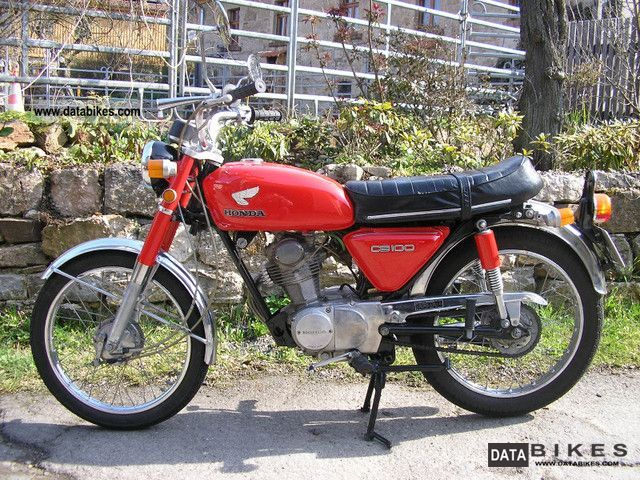 Honda  CB 100 1973 Vintage, Classic and Old Bikes photo