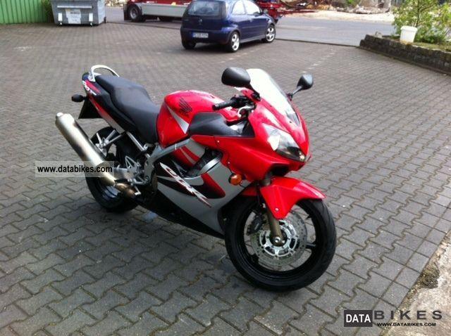 2005 Honda  600 CBR Motorcycle Sports/Super Sports Bike photo