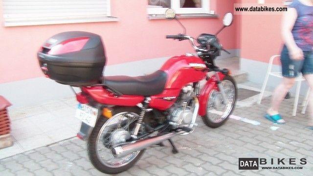 1999 Honda  CG 125 Motorcycle Lightweight Motorcycle/Motorbike photo