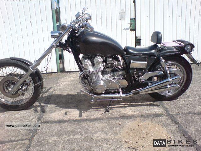 1990 Honda  cb 750 / AME Motorcycle Chopper/Cruiser photo