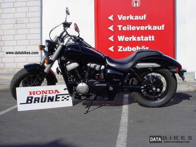 2011 Honda  C2B Shadow VT 750 Black Spirit Bobber Motorcycle Chopper/Cruiser photo