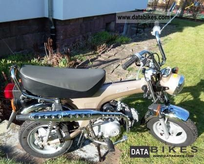 1994 Honda  Dax ST 50 AB 23 (12 volts) Motorcycle Motor-assisted Bicycle/Small Moped photo