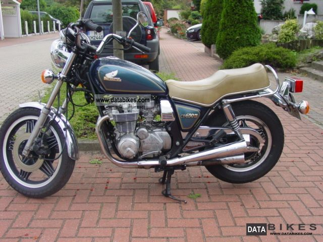 1982 Honda  CB 650 C Motorcycle Chopper/Cruiser photo