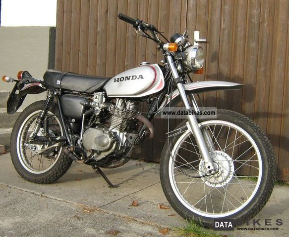 Honda  XL 250 MOTOSPORT K0 1975 Vintage, Classic and Old Bikes photo