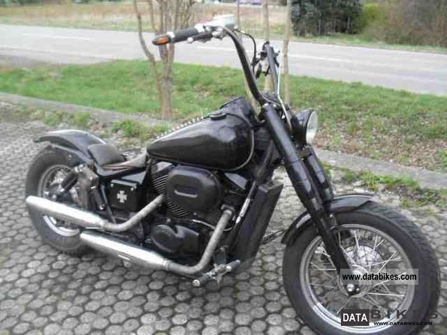 2000 Honda  Black Widow 750 Motorcycle Chopper/Cruiser photo