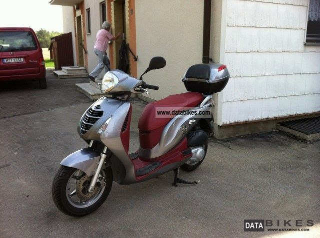 2008 Honda  125 cc Motorcycle Scooter photo