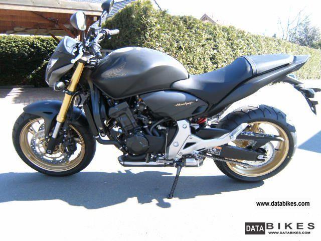 2012 Honda CB 600 Hornet 2012 Action