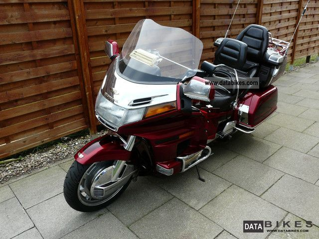 1995 Honda  Goldwing GL 1500SE (U.S. model) Motorcycle Tourer photo