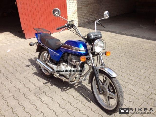 1982 Honda  CB 250 T Motorcycle Chopper/Cruiser photo