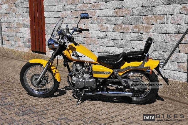 2000 Honda  Rebel Motorcycle Chopper/Cruiser photo