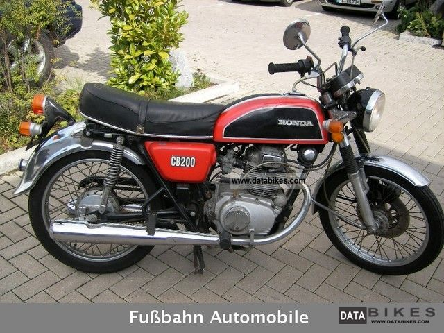 Honda  TUV CB 200 06-2012 FIXED PRICE! ! ! 1977 Vintage, Classic and Old Bikes photo