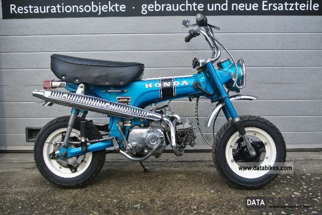 Honda  ST50 Dax / Monkey in beautiful condition. Original paint! 1976 Vintage, Classic and Old Bikes photo