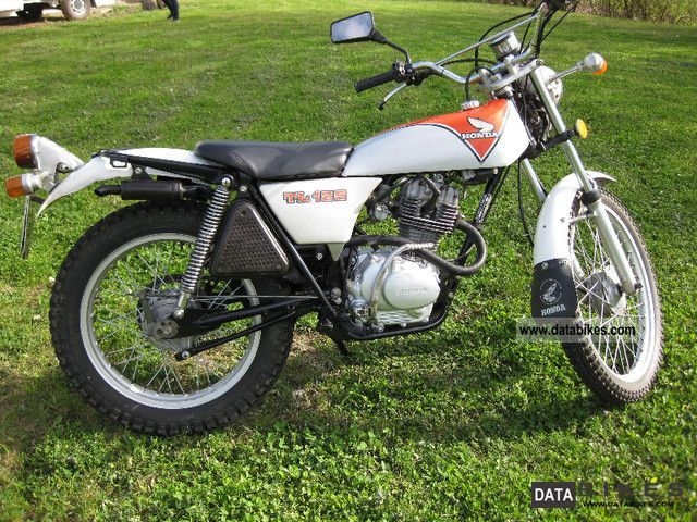 Honda  tl 125 s 1979 Vintage, Classic and Old Bikes photo