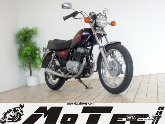 1984 Honda  CM 250 Custom - made of 2 hands! - Motorcycle Chopper/Cruiser photo