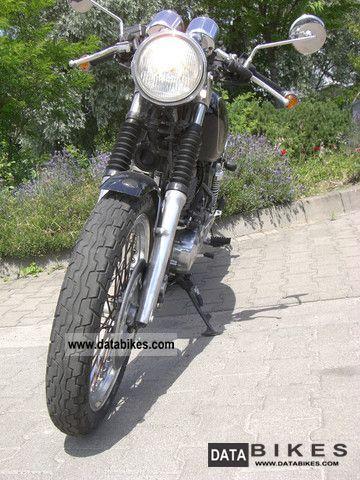 1991 Honda  GB 500 CLUBMAN Motorcycle Naked Bike photo