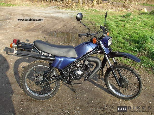 1979 Honda MT 5 50cc Enduro Cross
