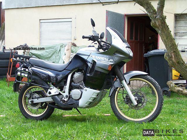 1995 Honda  Trans Alp Motorcycle Enduro/Touring Enduro photo