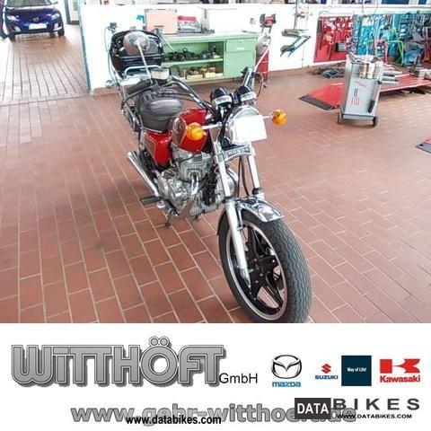 1983 Honda  NC01 Motorcycle Motorcycle photo