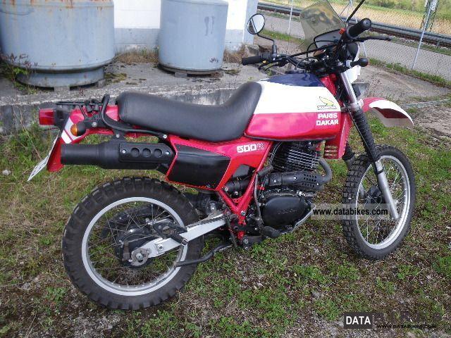 Honda  XL500 R Paris-Dakar! New piston etc TOP! Oil cooler 1986 Enduro/Touring Enduro photo