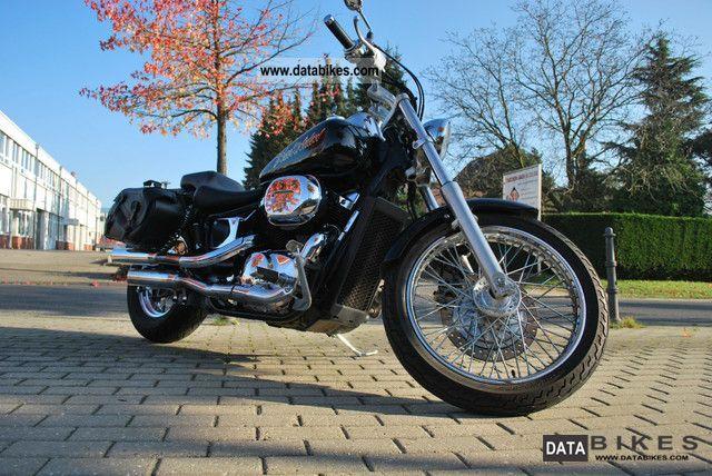 2001 Honda  Balck Widow VT750 Motorcycle Chopper/Cruiser photo
