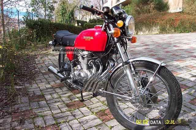 1975 Honda  HONDA CB 400 FOUR 1975 Motorcycle Tourer photo