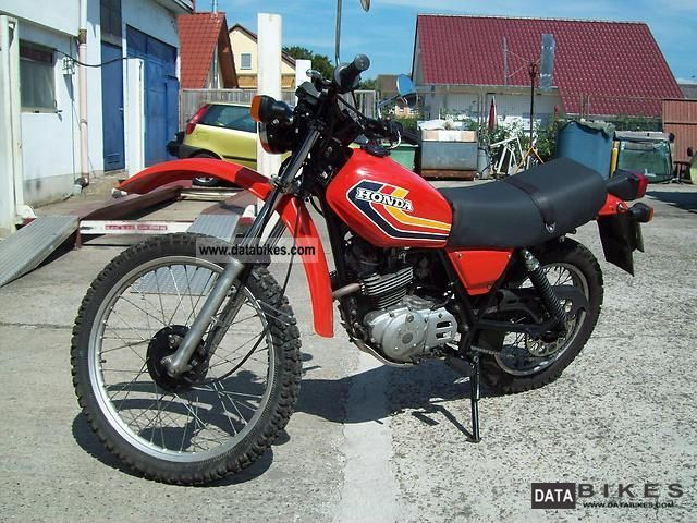 Honda  XL 250 S 1979 Vintage, Classic and Old Bikes photo