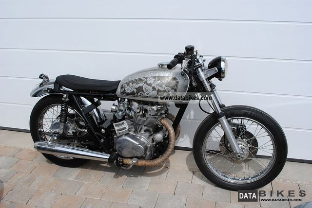 Honda  CB450K Custom 1974 Vintage, Classic and Old Bikes photo