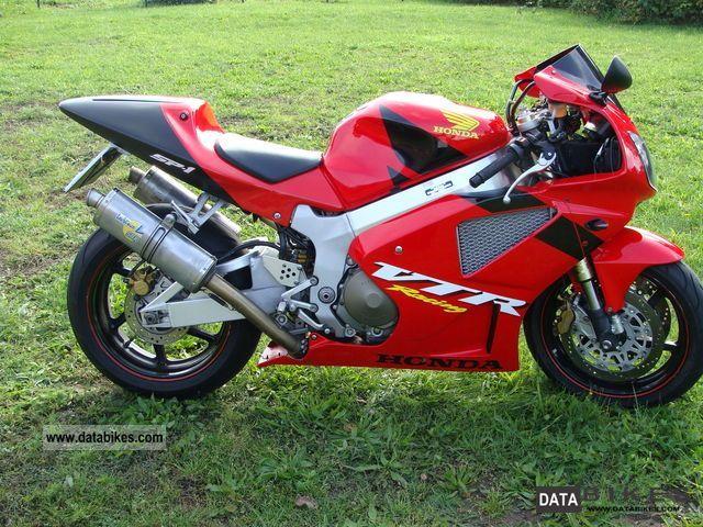Vtr Sp1 Exhaust 2003 Honda Vtr Sp1
