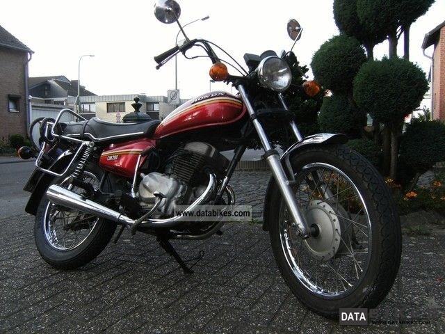 1980 Honda  CB 200 T Motorcycle Chopper/Cruiser photo