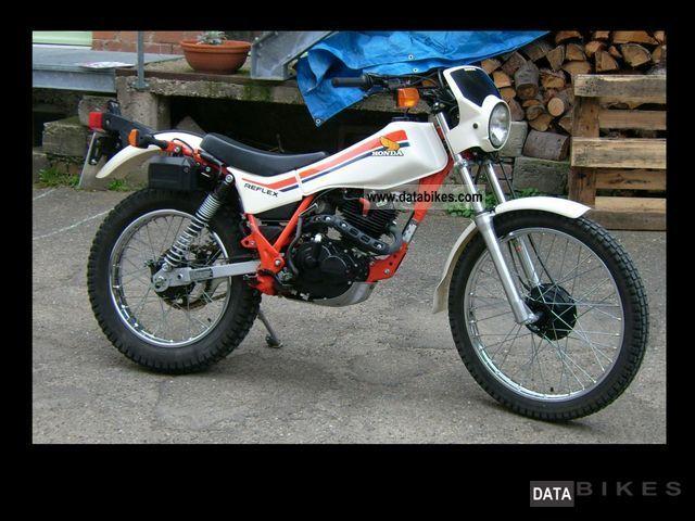1991 Honda  TLR 200 Reflex Motorcycle Rally/Cross photo