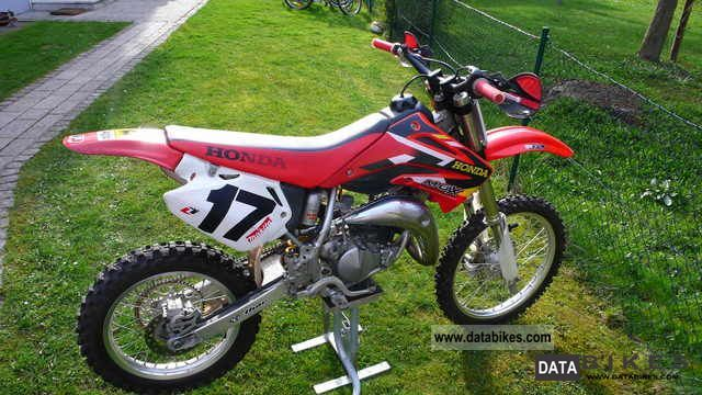 2003 Honda  85 cr Motorcycle Rally/Cross photo