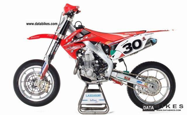 2009 Honda  CRF 450 Supermoto World Championship motorcycle IVAN LAZZARINI Motorcycle Super Moto photo