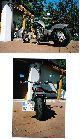1994 Honda  VT 600 Motorcycle Chopper/Cruiser photo 3