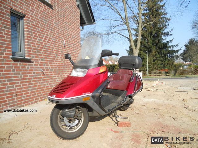 1993 Honda  HELIX Motorcycle Scooter photo