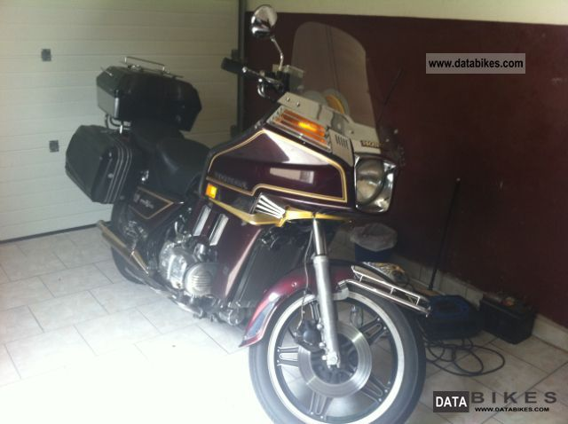 1981 Honda Gold Wing Gl1100 Interstate Dx