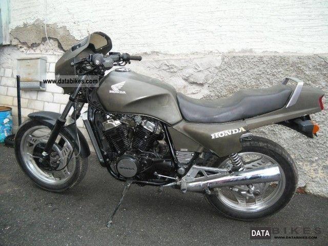 1985 Honda  VT 500 E Olive NATO Motorcycle Motorcycle photo