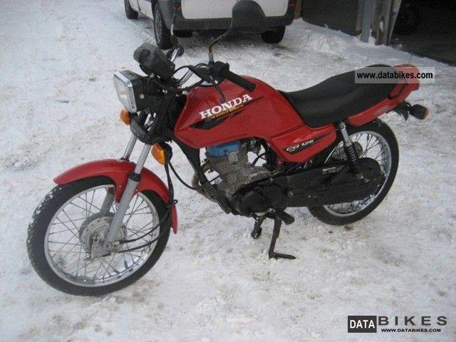 1999 Honda  125 Motorcycle Naked Bike photo