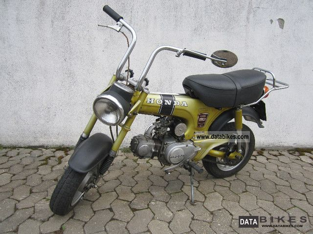 Honda  ST 50 GE 1976 Vintage, Classic and Old Bikes photo