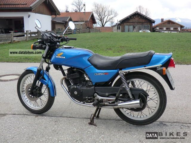 1985 Honda  CB 250 RS vintage / classic cars Motorcycle Motorcycle photo