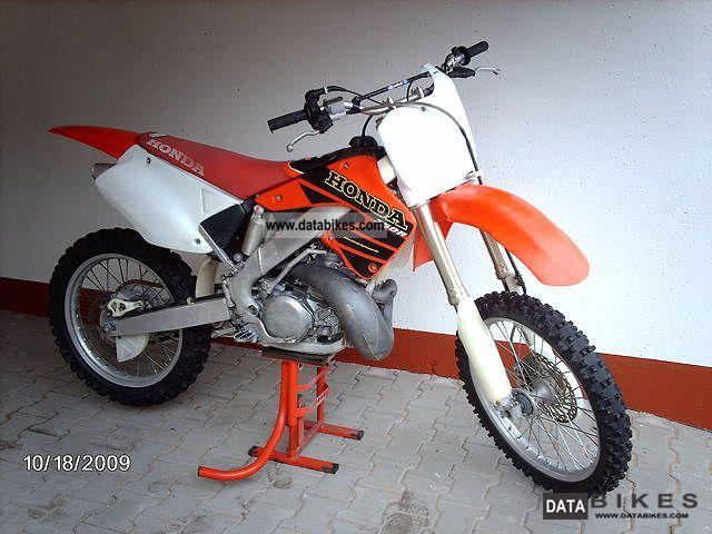 2001 Honda  cr Motorcycle Rally/Cross photo