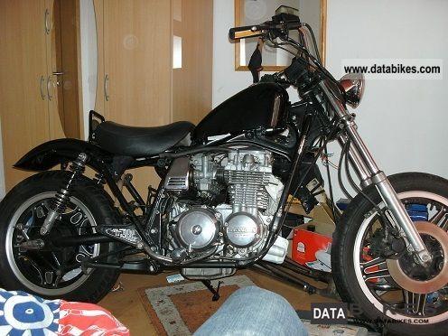 1980 Honda  CB 650 bobber Motorcycle Chopper/Cruiser photo