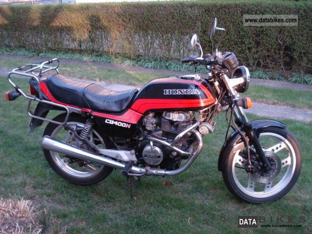 1984 Honda  CB 400 N Motorcycle Motorcycle photo