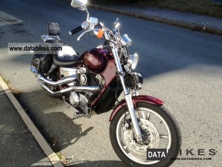1989 Honda  SHADOW VT 1100C TOP fork extension TUV Motorcycle Chopper/Cruiser photo