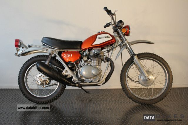 1973 Honda  SL 350 K2 Motorcycle Motorcycle photo