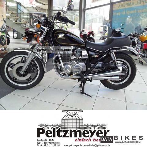 1981 Honda  CB 650 C Motorcycle Chopper/Cruiser photo