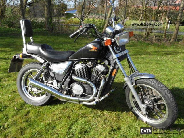 1993 Honda  VT 500 C Shadow with footrest Motorcycle Chopper/Cruiser photo