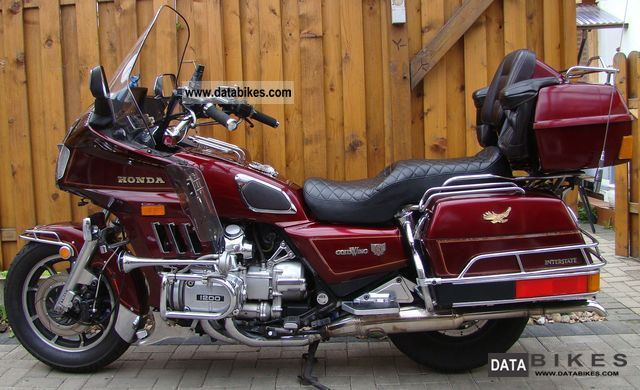 Honda  GL 1200 Goldwing 1986 Tourer photo