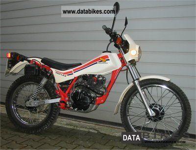 1991 Honda  TL200 Motorcycle Dirt Bike photo
