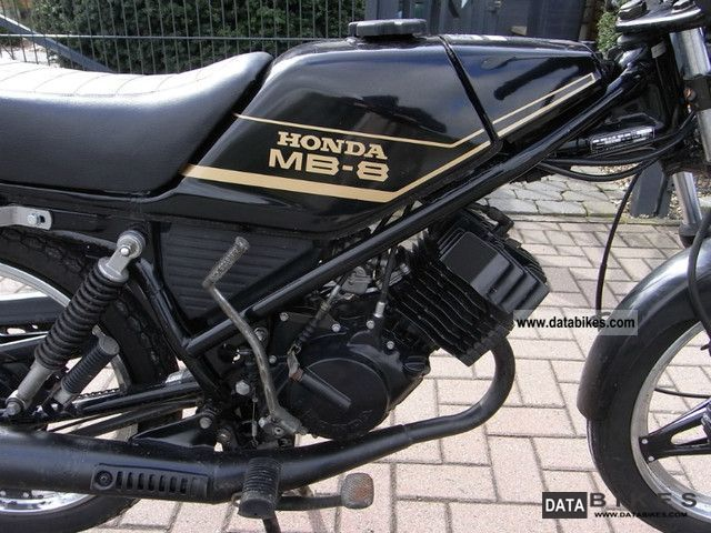 1982 Honda  MB8 original 30 years old Motorcycle Lightweight Motorcycle/Motorbike photo