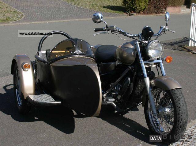 1995 Honda  VT 1100 Motorcycle Combination/Sidecar photo